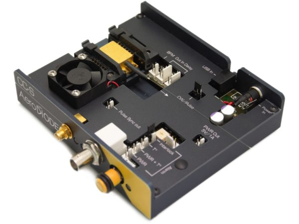 pulsed laser diode driver very modular