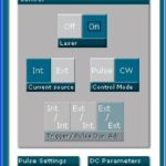 808 nm laser diode driver GUI