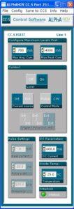 976 nm laser diode pulse & CW driver GUI