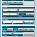 Digital delay generator GUI