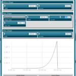 fiber optic modulator GUI for pulse shaping