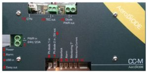 high power laser diode driver inputs outputs