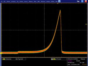 fiber laser shaped pulse